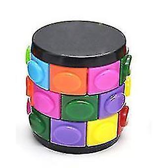 Culoare pentru copii intelectuale Creative Magic Tower Cube jucărie (E)