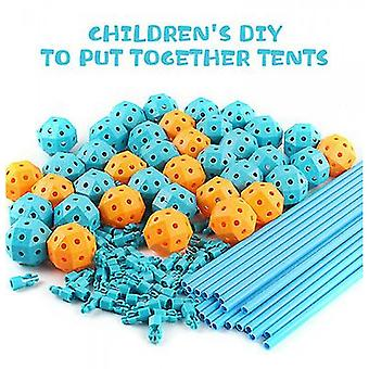 Diy Fort Building Castles Tunnels Play Tent Tower Al aire libre,children's Day Gift