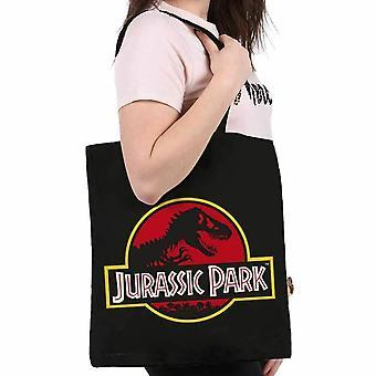 Jurassic Park Logo Einkaufstasche