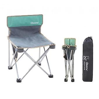 Camping Beach Fishing Chair Outdoor Folding Chair Portable Stool Sketching Chair(Group1)
