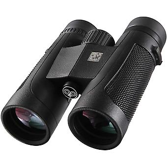 10X42 HD Hunter Binoculars for Adults | Wide Field of View | Bright Vision | Waterproof Fog-proof | Beginner's Roof Binoculars for Hunting Wildlife Watching Game Events,(black)