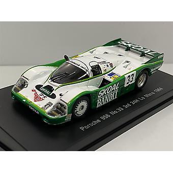 Porsche 956 #33 3rd 24h Le Mans 1984 Minimax Sparky Models Y178