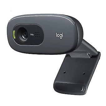 מצלמות אינטרנט logitech המקורי c270 מחשב שולחני מחשב מחברת כונן מקוון קורס מצלמת אינטרנט וידאו
