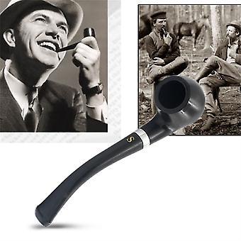 New Fashion Small Durable Smoking Cigarette Pipe Tobacco Cigar Pipes Black