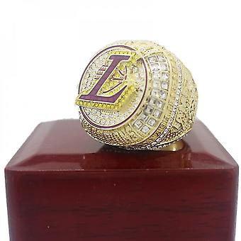 Nba Lakers Championship Ring Men's Fans With Removable Cover