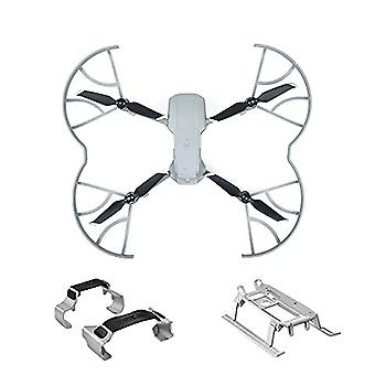 (3-in-1) Mavic Air 2/2s Accessories,propellers Guard + Landing Gear Extensions + Props Fixator Holder For Dji Air 2s / Mavic Air 2
