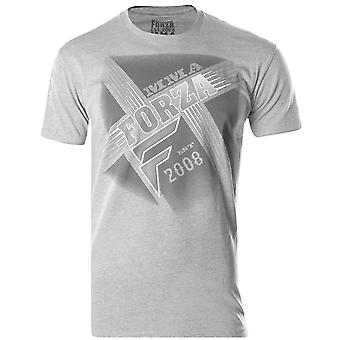 "Forza sport ""Crossroads"" MMA T-Shirt-Heather donkergrijs"