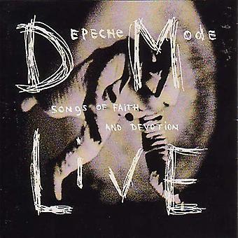 Depeche Mode - Live-chansons d'importation USA foi & dévotion [CD]