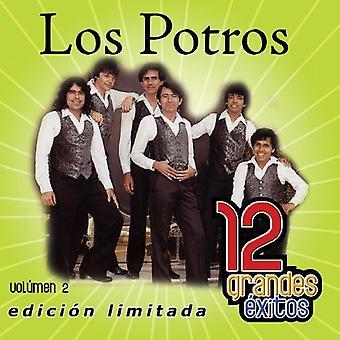 Los Potros - Los Potros: Vol. 2-12 Grandes Exitos [CD] USA import