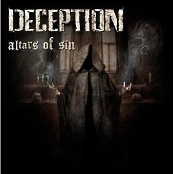 Deception - Altars of Sin [CD] USA import