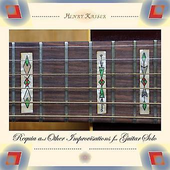 Henry Kaiser - Requia et autres Improvisations pour importation USA Guit [CD]