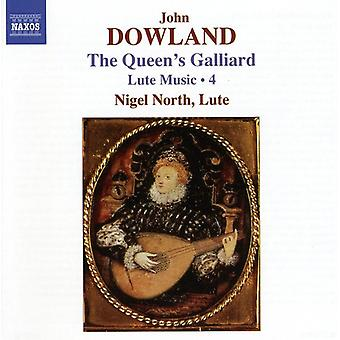 J. Dowland - Dowland: The Queen's Galliard -  Lute Music, Vol.  4 [CD] USA import