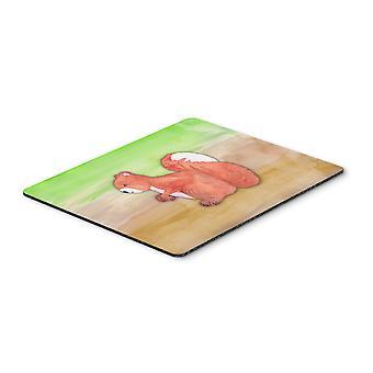 Carolines schatten BB7431MP eekhoorn aquarel muismat, hete Pad of onderzetters