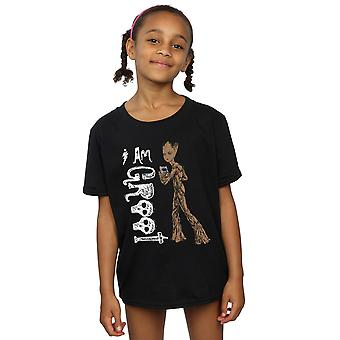 Marvel Girls Avengers Sonsuzluk Savaşı I Teenage Groot T-Shirt