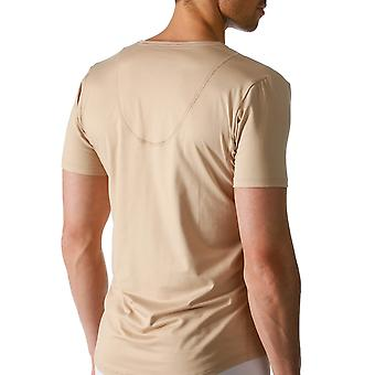 Mey 46038-111 Men's Dry Cotton Skin Solid Colour Short Sleeve Top