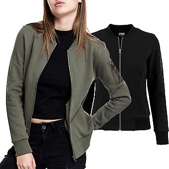 Urban classics ladies - SWEAT BOMBER sweater jacket