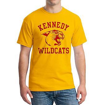 The Wonder Years Kennedy Wildcats Men's Gold T-shirt