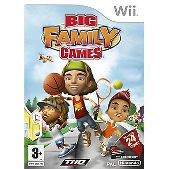 Grote familiespelletjes (Wii)-nieuw