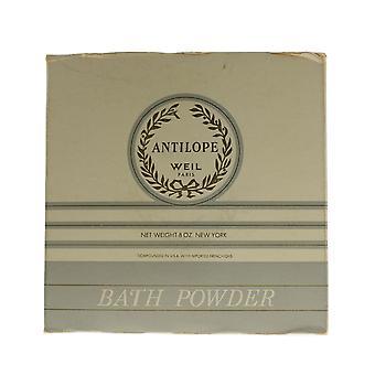 Weil 'Antilope' Bath Powder 8.0oz/226g New In Box