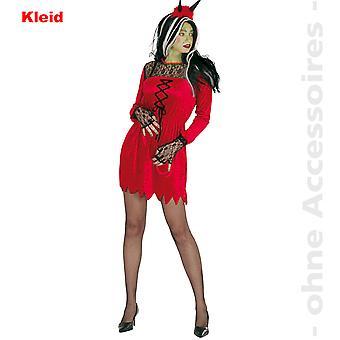 Satan costume ladies sexet Djævelen Djævelen Halloween damer kostume