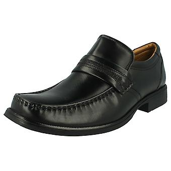 Mens Clarks Formal Slip on Shoes 'Hold Work'