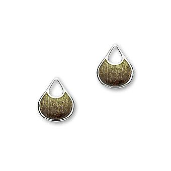 Sterling Silver Traditional Contemporary Modern Elements Design Pair of Earrings - EE418-Savanna