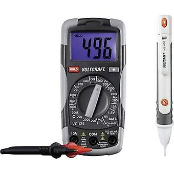 VOLTCRAFT DT-TEST-KIT 150 Handheld multimeter Digital CAT III 600 V Display (counts): 2000
