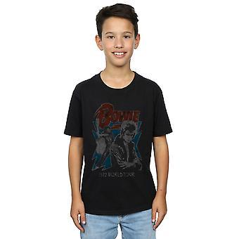 David Bowie Boys Tour 72 T-Shirt
