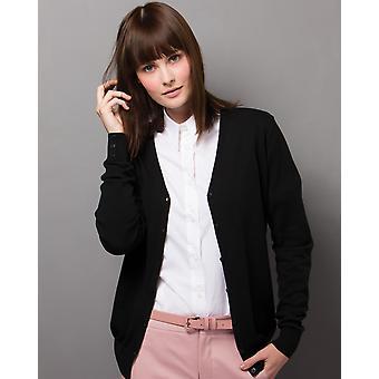 Kustom Kit Ladies V-Neck Cardigan - KK354