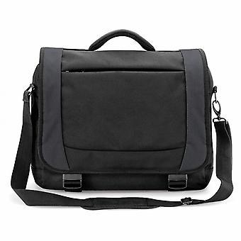 Quadra Tungsten Laptop Briefcase Bag - 14 Litres