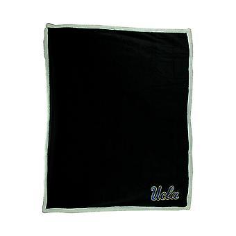 UCLA Bruins Super Soft Sherpa Style Throw Blanket