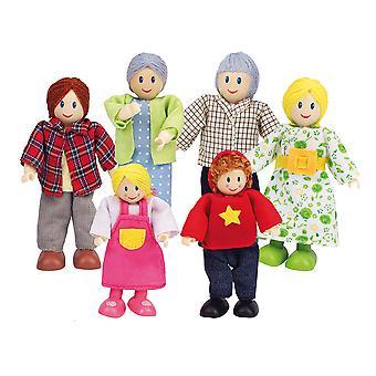 Hape-Puppe-Haus-Familie