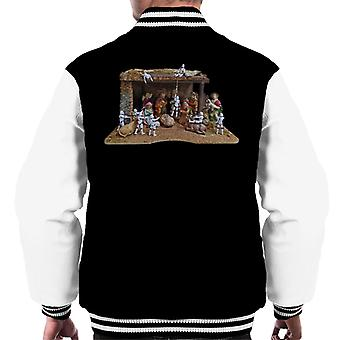 Original Stormtrooper Christmas Stormtivity Men's Varsity Jacket