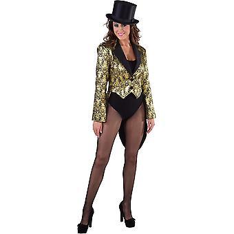 Vrouwen kostuums Jaquet Toon goud