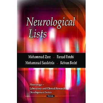 Neurologische Listen