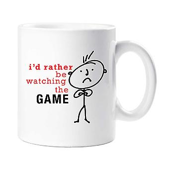 Mens I'd Rather Be Watching The Game Mug