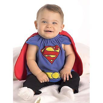 Costume pour bébé de bébé Superman
