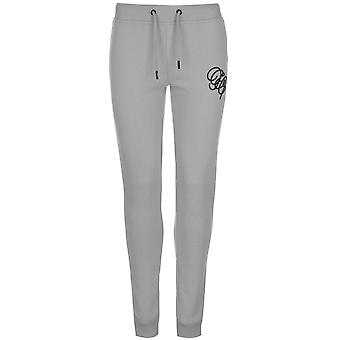 Fabric Womens Embroidered Joggers Bottoms Trousers Pants