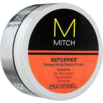 Paul Mitchell Mitch réformateur fort Hold/mat finition placage de texture, 3 Oz