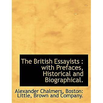الأدبيين البريطانيين مع مقدمات التاريخية والسيرة الذاتية. قبل تشالمرز & ألكسندر