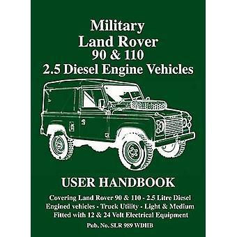 Military Land Rover 90/110 2.5 Diesel Handbook - 2.5 Diesel Engine Veh