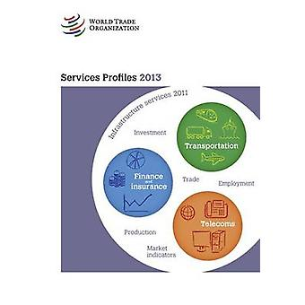 Services Profiles 2013 by World Trade Organization - 9789287038951 Bo