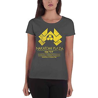 Die Hard T Shirt Nakatomi Plaza Vintage Movie Logo Official Womens Skinny Fit