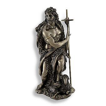 John The Baptist Bronze Finish Statue