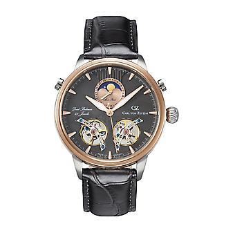 Carl von Zeyten Men's Watch Wristwatch Automatic Durbach CVZ0060RGU