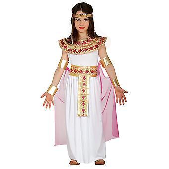 Girls Ancient Egyptian Cleopatra Fancy Dress Costume