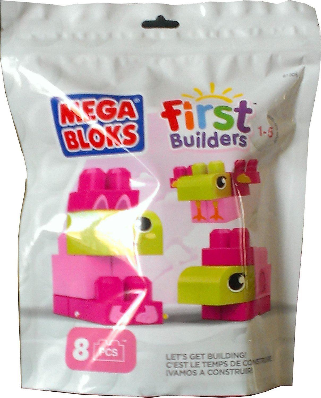 Mega Bloks First Builders - Lets Get Building Pink