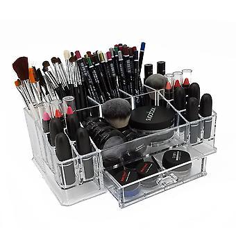 OnDisplay Hayley Deluxe Acrylic Cosmetic/Jewelry Organization Tray