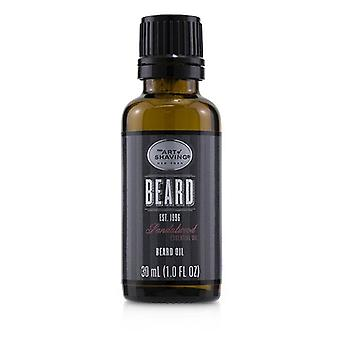 The Art Of Shaving Beard Oil-Sandalwood Essential Oil 30ml/1oz