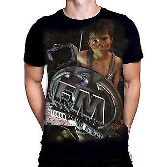 Born2rock - tough it out - fm men's t-shirt
